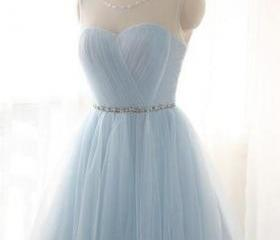 Scoop Neck Tulle Lig..